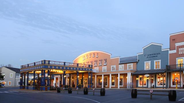 Hotel voorkant foto